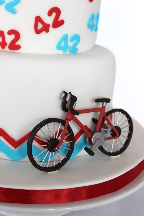Happy Anniversary Bike Cake